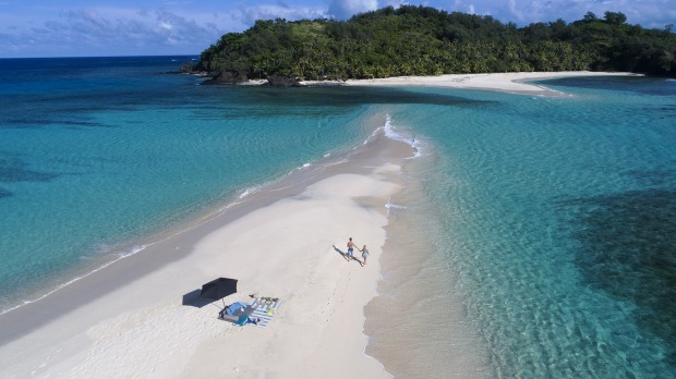 """Complejo turístico de toda la isla disponible para """"aislamiento en el paraíso"""""""
