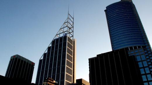 Deutschebank Place de Norman Foster en 128 Phillip Street, Sydney.