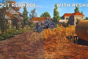 con y sin ReShade