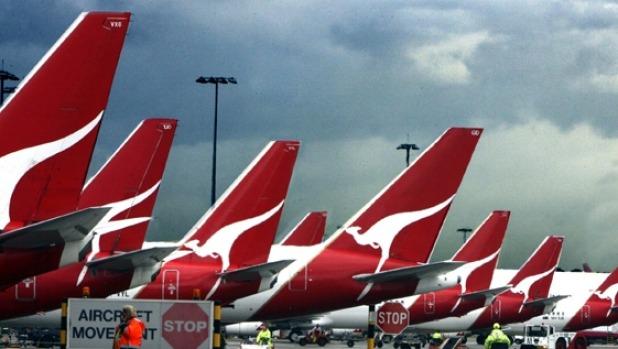 COVID-19 ha puesto a tierra gran parte de la flota de Qantas, socavando las celebraciones del centenario.