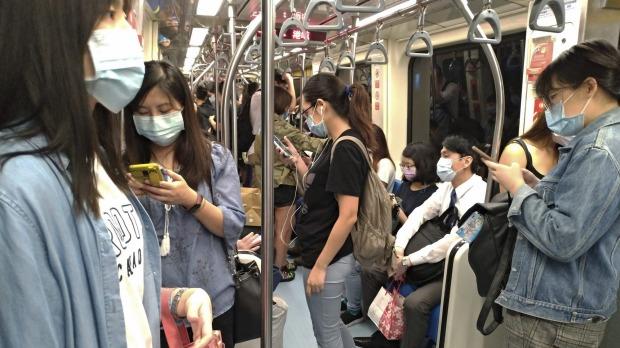 Ha habido un uso generalizado de máscaras en Taiwán desde el comienzo de la pandemia.