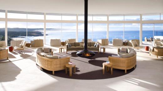 Southern Ocean Lodge ha sido calificado regularmente como uno de los mejores hoteles del mundo desde su lanzamiento en 2008.