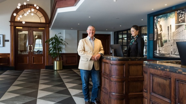 Greg Maguire, propietario del Powerhouse Hotel Tamworth en Rydges.