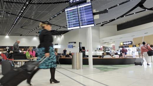 El aeropuerto de Auckland tiene vuelos directos al principal centro asiático de Singapur en el aeropuerto de Changi.
