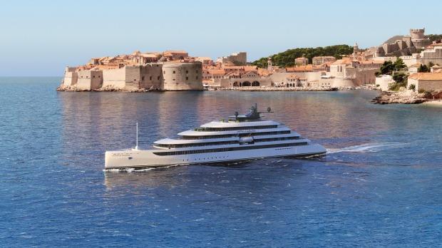 Emerald Azzurra es un yate de cinco estrellas con todo incluido que transporta solo a 100 invitados en 50 cabinas.