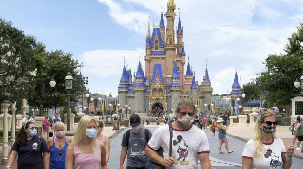 Walt Disney World en Florida.