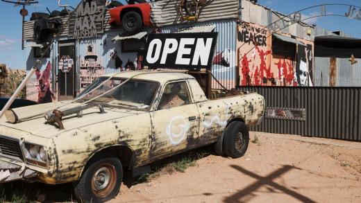 El museo Mad Max Two en Silverton, NSW.