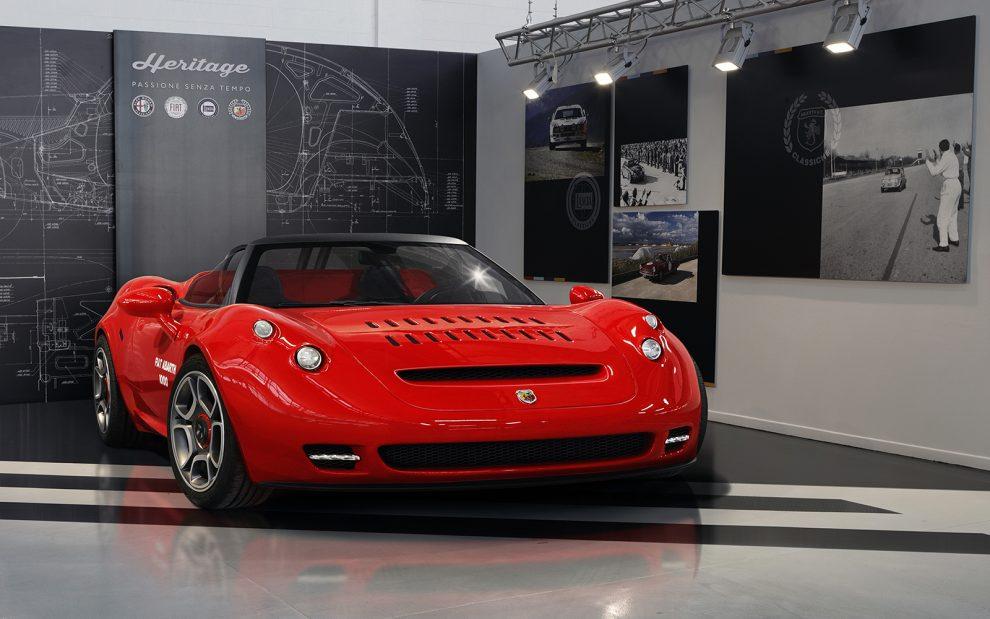 Abarth 1000 SP racer renace con motor Alfa Romeo de 240 CV