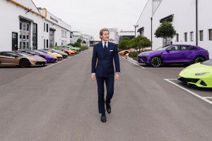 Sentirse optimista: el CEO de Lamborghini sobre los planes futuros de la marca