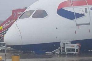 Avión de British Airways se estrella en Heathrow