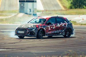 Primera ronda: revisión del prototipo Audi RS3 2021