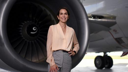 Jayne Hrdlicka, directora ejecutiva de Virgin Australia.