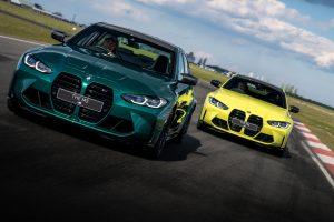 Función publicitaria    Video: los nuevos BMW M3 y M4 en la pista
