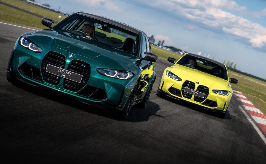 Función publicitaria |  Video: los nuevos BMW M3 y M4 en la pista