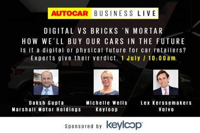 Autocar Business Live: cómo compraremos nuestros coches en el futuro seminario web