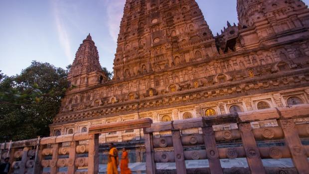 Bodh Gaya, en el estado de Bihar, en el noreste de la India, es donde Buda alcanzó la iluminación.