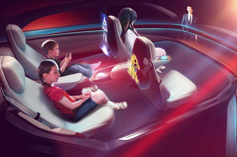 Volkswagen Project Trinity: el interior es la clave del buque insignia EV 2026