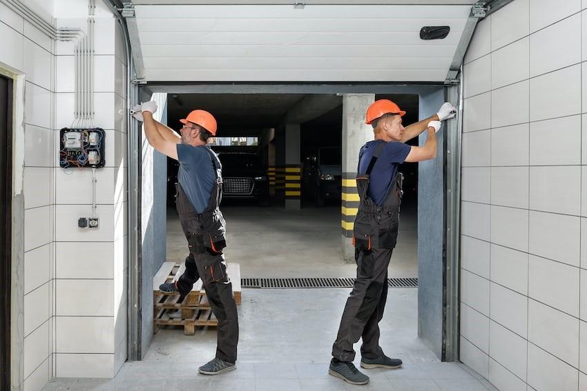 mantenimiento preventivo de puertas de garaje