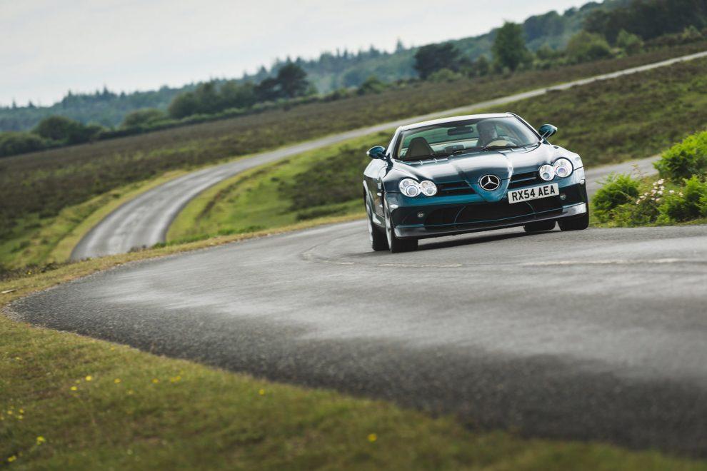 Das Reboot: conduciendo el Mercedes-Benz SLR McLaren de MSO