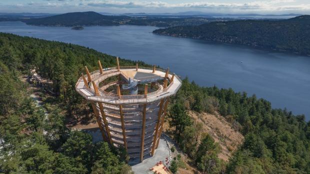 Malahat Skywalk: una espectacular caminata por las copas de los árboles se abre en la isla de Vancouver, Canadá