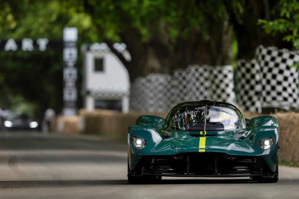 Exclusivo: viaje en el Aston Martin Valkyrie con Tobias Moers
