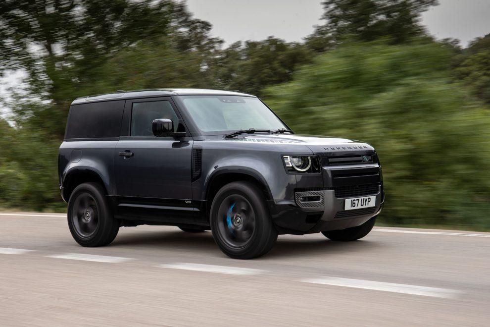 Land Rover Defender 90 V8 2021 revisión del Reino Unido