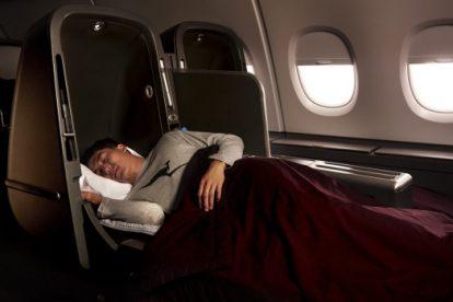 Qantas subastará asientos de clase ejecutiva y vuelos privados del Airbus A380 para viajeros frecuentes