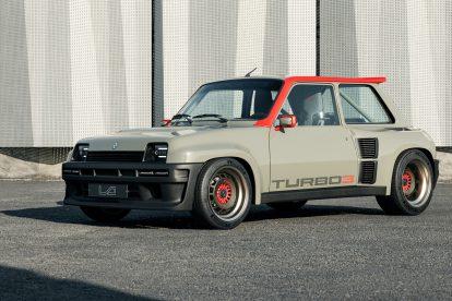 El Renault 5 Turbo renace con 400 CV y carrocería de fibra de carbono